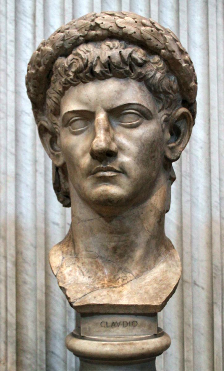 Claudius1. elokuuta 10 eaa. – 13. lokakuuta 54