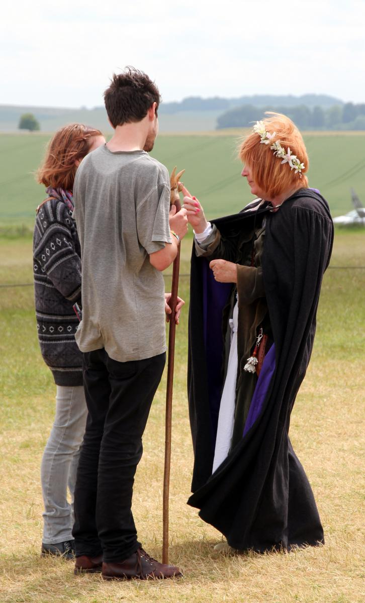 Druidi Stonehengellä